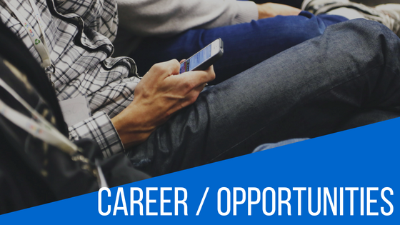Career / Opportunities  August 23, 2018