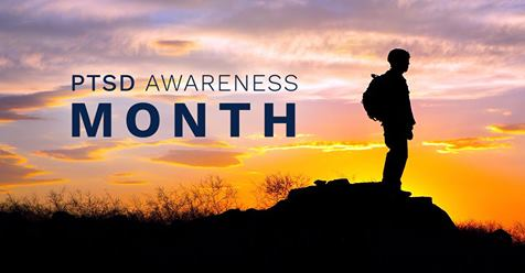Image result for ptsd awareness month