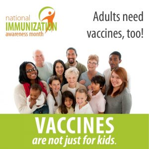 Adults need vaccines, too!